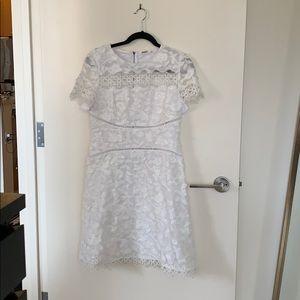 Eli Tahari white dress